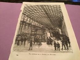 Une Image Du Live Les Merveillede L'exposition   Vue Générale De La Galerie Des Machines - Machines