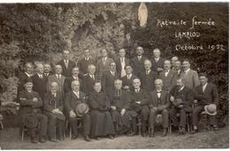 Carte Photo -Retraite Fermée Lamalou Octobre 1932 - Lamalou Les Bains