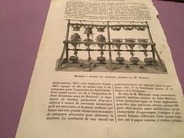 Une Image Du Live Les Merveillede L'exposition    Machine Adresser Les Chapeaux Exposé Par Monsieur Quesnel - Machines