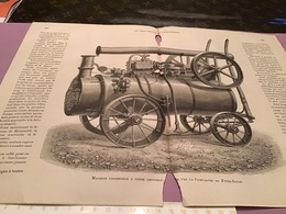 Une Image Du Live Les Merveillede L'exposition  Machine Locomotive à Foyer Amovible Par La Compagnie De Five Lille - Machines