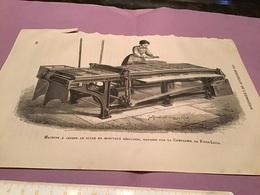 Une Image Du Live Les Merveille De L'exposition Machine à Casser Le Sucre En Morceaux Régulière Exposé Par La Compagnie - Machines