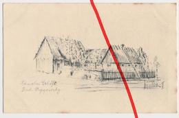 PostCard - Bud.-Strzegowsky - Polnisches Gehöft - 1917 - Verlag Trau & Schwab, Dresden - Feldpostkarte - Pologne