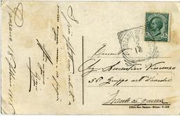 WW1 ZONA DI GUERRA 1918 Da PONZANO DI FERMO Per 56° Gruppo Artiglieria D'Assedio  Card Purificazione A. Formis - 1900-44 Vittorio Emanuele III