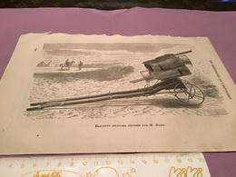 Une Image Du Live Les Merveille De L'exposition   Brouette Militaire Exposé Par Monsieur Bazin - Machines