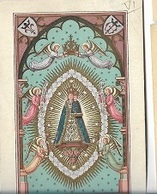 DI/14/ N D. DE BON SECOURS      LITHO  + GOUDOPDRUK - Religion & Esotérisme