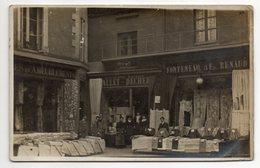 à Identifier--à Localiser--carte-photo -Commerce---Devanture De Magasins (très Animée) ...voir  Zoom ... à Saisir - Cartes Postales