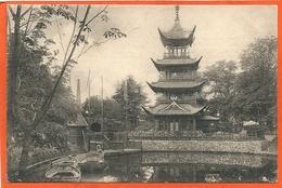 DK096,  * THE CHINESE TOWER  PAGODE In COPENHAGEN TIVOLI * SENT 1907, SEE BACKSIDE - Danemark