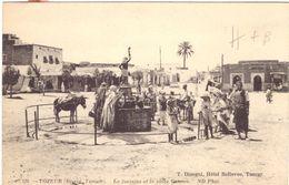 Tozeur La Fontaine Et La Place Canova - Túnez