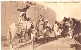 Cavalier Arabe En Costume De Fantasia - Túnez