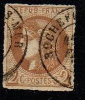 A2D-N°40 Report II Chocolat Signé Roumet Et  Weid - 1870 Bordeaux Printing