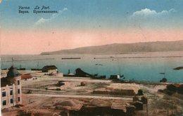 (77)  CPA  Varna Le Port - Bulgarie