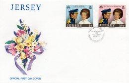 JERSEY 1973 Royal Wedding FDC - Jersey