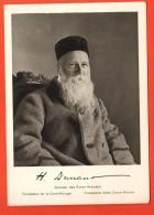 FKE-31 Henri Dunant Fondateur De La Croix-Rouge, Avec Sa Signature Reproduite, 1828-1928 Grand Format Non Circulé - Croix-Rouge