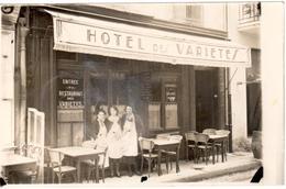 Carte Photo - Hotel Des Variétés Béziers - Beziers