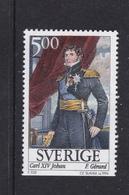 ART PAINTING GEMÄLDE PEINTURE - FRANCOIS GERARD - KING KARL XIV JOHAN - SWEDEN  SUEDE SCHWEDEN 1994 MI 1822 MNH - Slania - Royalties, Royals
