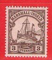 MiNr. 26 Xx  Deutschland Deutsche Kolonie Marshall-Insel - Colonie: Marshall