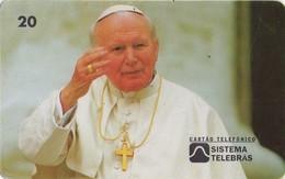 TARJETA TELEFONICA DE BRASIL. 2º Encontro Mundial Do Papa - B2 - 09/97, BR-02-0015B. (513) - Brasil