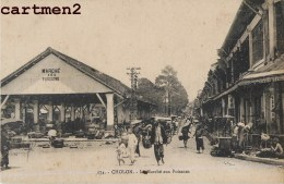 CHOLON LE MARCHE AUX POISSONS INDOCHINE VIETNAM - Vietnam