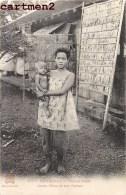 CAMBODGE PHNOM-PENH JEUNE MERE ET SON ENFANT ETHNOLOGIE ETHNIC ASIE INDOCHINE INDO-CHINE - Cambodge