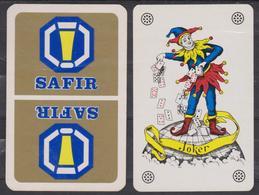 Dos De Carte Avec Joker Carta Mundi - Pub Bière SAFIR - Cartes à Jouer Classiques