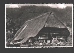 Im Schwarzwald - Haus Mit Strohdach / Maison Au Toit De Chaume / House With Thatched Roof - Allemagne