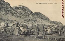 MAROC MARRAKECH FORT DU GUELIZ GUERRE DU RIF SOLDATS - Maroc