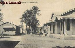 MAROC MARRAKECH CAMP DU GUELIZ GUERRE DU RIF SOLDATS - Maroc