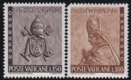 Vatican   .   Yvert   .    Express  7/8    .    *     .    Ongebruikt  Met Plakker   .   /   .   Mint-hinged - Express