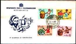 72311)  SOMALIA 1968 - FRUTTI SOMALI - FDC - Somalia (1960-...)