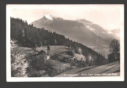 Berchtesgaden - Maria Gern Gegen Göll Und Brett - Fotokarte - 1949 - Berchtesgaden