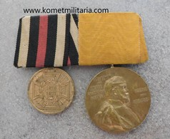Imperial German Franco/Prussian War Medal And Centenary Medal 1897 - 1914-18