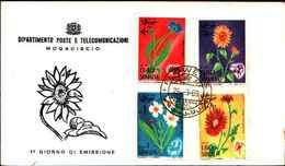 72313)   SOMALIA 1969 - FIORI FLOWERS - FDC - Somalia (1960-...)