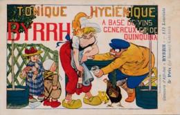 H180 - PUBLICITÉ - BYRRH - Tonique Hygiénique - Art Nouveau - Par Carlègle - Publicité