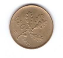 Moneta Lire 20 1976-1980 - Monete