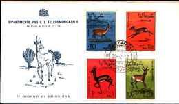 72317)    SOMALIA 1968 - W.H.O. ANNIVERSARY - FDC - Somalia (1960-...)