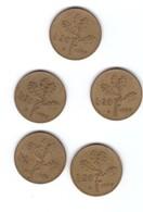 Moneta Lire 20 1957 5 Pz - Monete