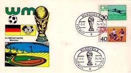 TARJETA DE ALEMANIA, FIFA WORLD CUP 1974. (279) - Copa Mundial