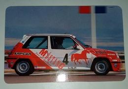 Calendrier De Poche. Renault 5  GT Turbo.Portugal 1991 - Calendarios