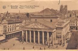 BRUXELLES - Théâtre Royal De La Monnaie - Monumenten, Gebouwen