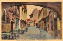 BRUXELLES - Exposition De Bruxelles 1935 - Vieux Bruxelles - Wereldtentoonstellingen