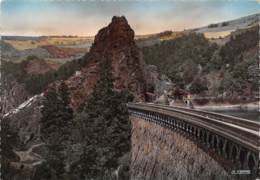CPM - 42 - ROCHETAILLEE - Le Rocher Et Le Mur Du Barrage - Rochetaillee