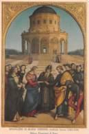 SPOSALIZIO DI MARIA VERGINE - Raffaello Sanzio - Milano - Piinacoteca Di Brera - Peintures & Tableaux