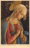 LA VERGINE IN ADORAZIONE - Filippo Liggi - R. Galleria Uffizi - Firenze - Schilderijen