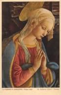 LA VERGINE IN ADORAZIONE - Filippo Liggi - R. Galleria Uffizi - Firenze - Peintures & Tableaux