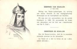 GODEFROID DE BOUILLON - Politieke En Militaire Mannen
