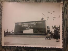RARE Photo Originale Inauguration Du Monument AUX HEROS CONNUS ET INCONNUS DE LA RESISTANCE, Nancy , Vers 1945 TB - Guerra, Militari