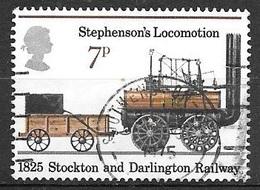 1975 Stockton And Darlington Railway, 7p, Used - Used Stamps
