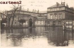 CARTE PHOTO : CAEN CRUE DE L'ORNE PREFECTURE INONDATIONS DELASSALLE ET CORON 14 CALVADOS - Caen
