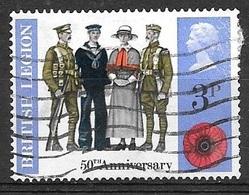 1971 British Legion, 3p, Used - Used Stamps