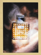 Carte Promo Perfume Card BOIS MYSTIQUE * HOUBIGANT * 14,7 X 20,7 Cm * R/V - Modern (from 1961)